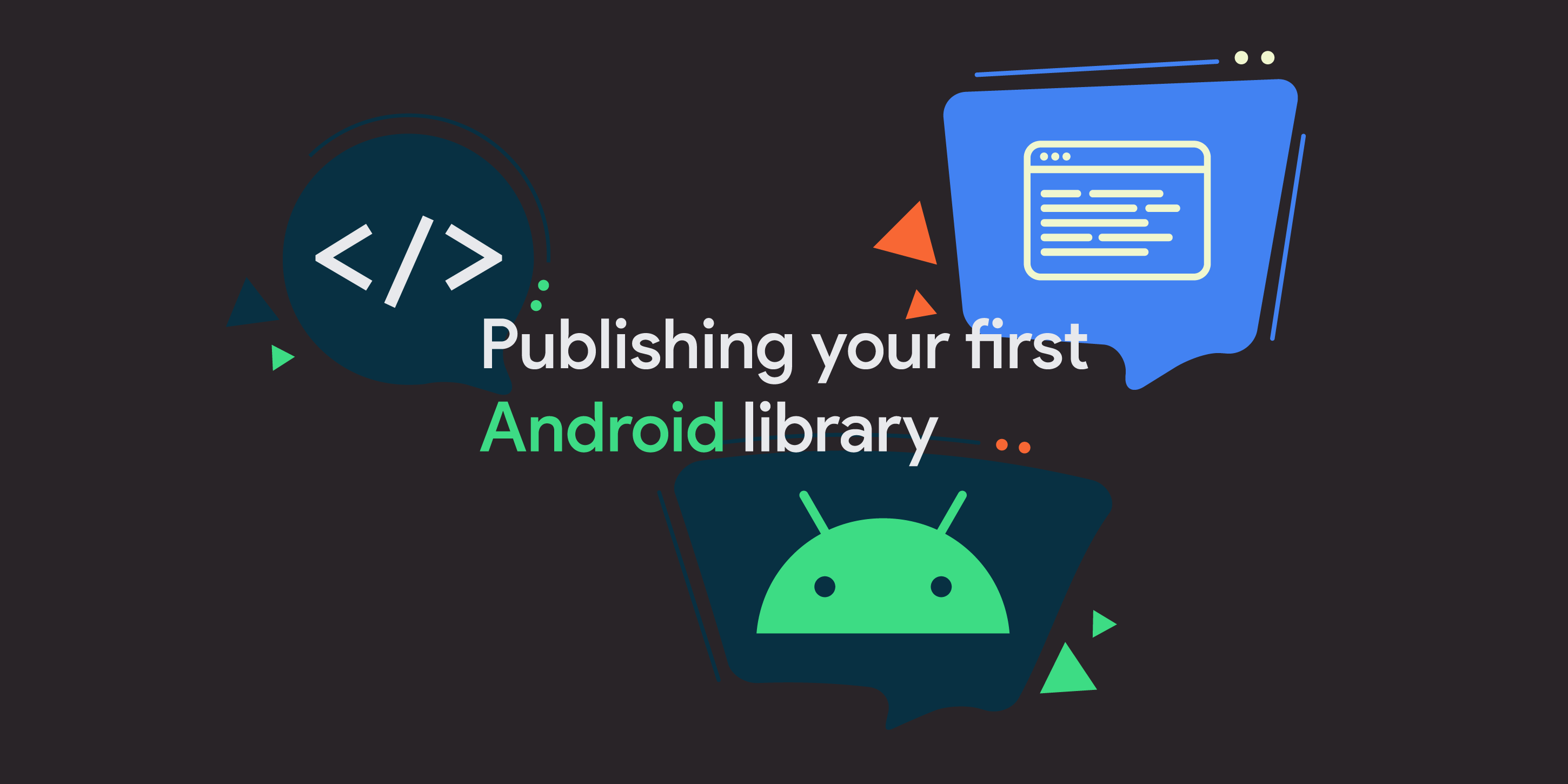 Publishing your first Android library to MavenCentral