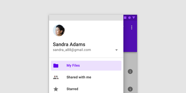 Android Material Component: Navigation Drawer Styling (Part II)