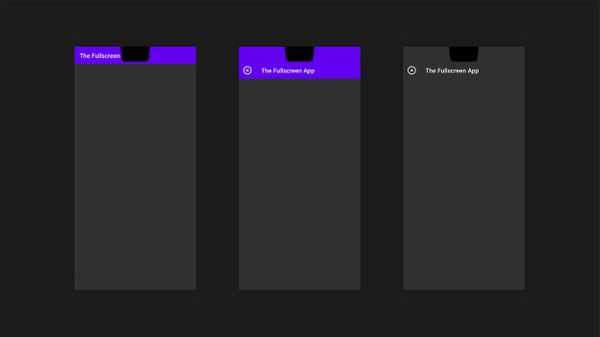 Android Material Component: Toolbar vs DisplayCutout